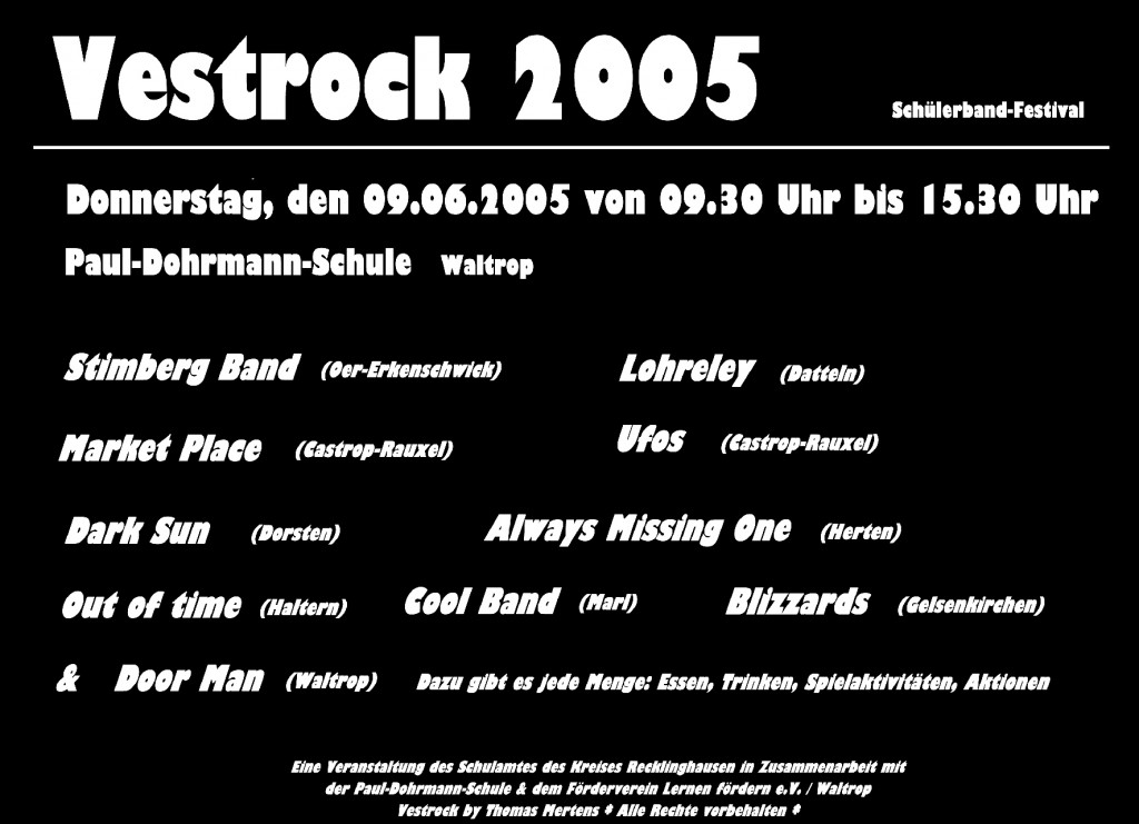 2005_Plakat Vestrock